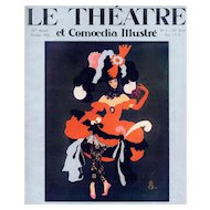 Art Deco Russian Theater and Dance print