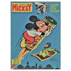 Vintage Disney Mickey Mouse Print