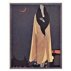 Matted Art Deco Fashion Print