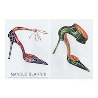 PAIR-Matted Fashion Prints-SHOES