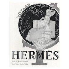 1931 Art Deco  Hermes Travel-Golf Print
