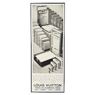 Rare Matted Art Deco Vintage Vuitton Print-Travel Products