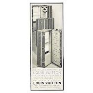 Rare Matted Art Deco Vintage Vuitton Print-Trunks