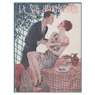 Valentine Lovers-Art Deco French print