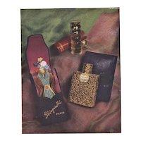 Original French Schiaparelli Perfume Advertising Print