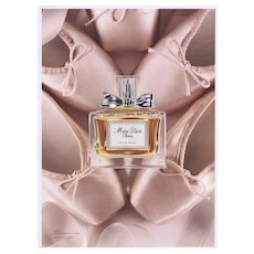 Matted Miss Dior Cherie Ballet Slipper Advertisement Print