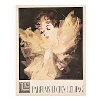 1944 French Perfume Advertisement Print-Gruau