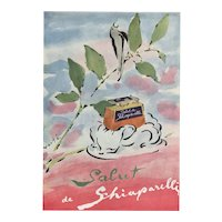 Matted Mid-Century French Perfume Print-Schiaparelli