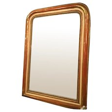 French Louis Philippe Mirror With Original Finish