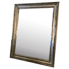 Silver Leaf Mirror From France