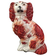 Staffordshire Dog Modeled After The King Charles Spaniel