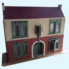 Large English Dollhouse That Was Handmade In Early Twentieth Century