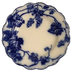 Warwick Flow Blue Bread And Butter Plate By Johnson Bros Of England