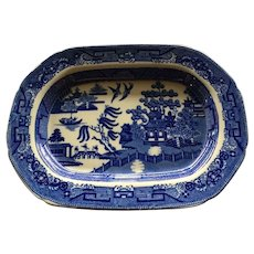 Blue Willow Platter In Medium Size