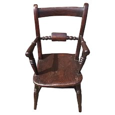 Child's Chair From 1890 England