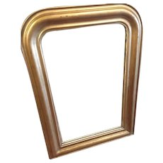 Louis Philippe Mirror With Soft Gold Finish