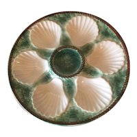 Oyster Plate By Longchamps Of France