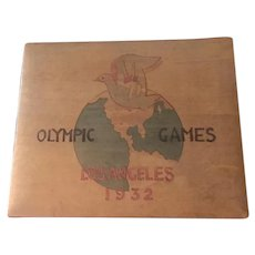 Olympic Box From 1932 Los Angeles Games