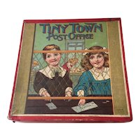 Tiny Town Post Office Antique Children's Toy