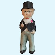Antique Bisque Doll That Is A Groom