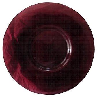 Amethyst Purple Peking Glass Dish