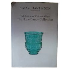 Antique Chinese Glass Rare Reference