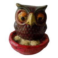Sergio BUSTAMANTE Paper Papier Mache Owl Vintage Mexico