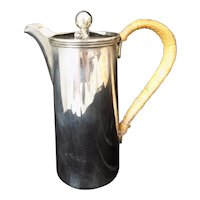 Antique Mappin & Webb Silverplate Coffee or Chocolate Pot