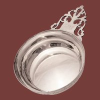 Coin Silver Porringer / Bowl by John Vernon