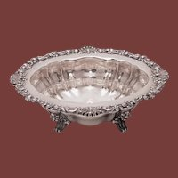 Sterling Silver Footed Centerpiece / Serving Bowl by Bailey, Banks, and Biddle