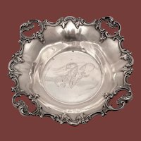 Sterling Silver Serving Bowl by R. Wallace & Sons