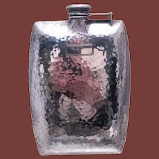 International Sterling Silver Flask in Arts & Crafts