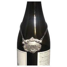 Buccellati Italian Sterling Silver Gin Claret Jug Small Label