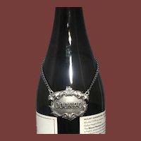 Buccellati Italian Sterling Silver Cognac Claret Jug Small Label