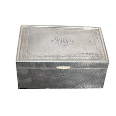 Gorham Arts and Crafts Sterling Silver Jewelry Box