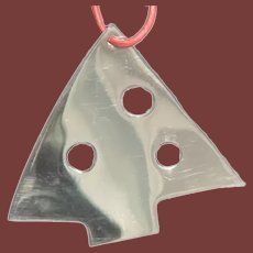 Christmas Tree Ornament in Sterling Silver by Linda Lee Johnson