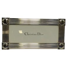 Christian Dior Sterling Silver Frame