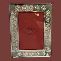 Sterling Silver Spanish Picture Frame in Floral Design