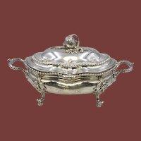 George II Silver Covered Tureen Circa 1750s