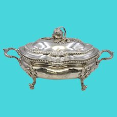 George II Silver Covered Tureen Circa 1750s