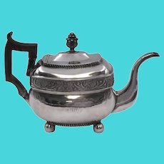 American Coin Silver Tea/Coffee Pot by W. G. Forbes