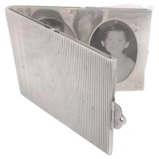 Sterling Silver Picture Frame Closing as Box