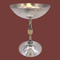 Gilt Sterling Silver Champagne Cup by Jocelyn Burton