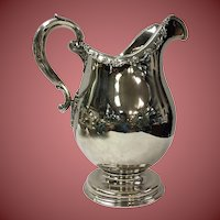 Tiffany  sterling silver water pitcher