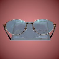Bulgari 18K gold eye glasses