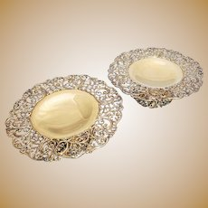 Pair of Howard & Co. Gilt Sterling Silver Tazzas