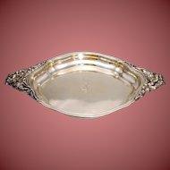 Sterling  Silver Art Nouveau tray