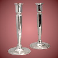 Tiffany & Co. Vintage Sterling Silver Candlesticks