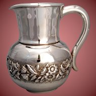 American Sterling  Pitcher by P. L Krider .