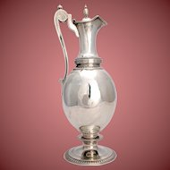 William Gale & Son Sterling   Large Ewer